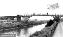 Warrington, High Level Bridge (The Cantilever) c.1965