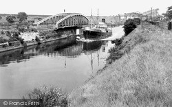 Warrington, Knutsford Road Bridge And High Level Bridge c.1950