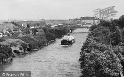 Warrington, Knutsford Road Bridge And Manchester Ship Canal c.1965