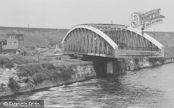 Warrington, Knutsford Road Bridge c.1950