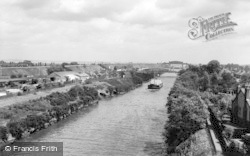 Warrington, Manchester Ship Canal c.1965