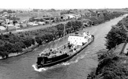 Warrington, Manchester Ship Canal c1965