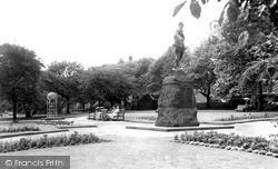 Warrington, Queen's Gardens c.1955