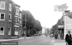 Warrington, Sankey Street c.1955