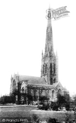 Warrington, St Elphin's Church 1894