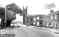 Warrington, St James' Church And Wilderspool c.1965