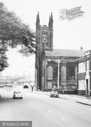 Warrington, St James' Church c.1965