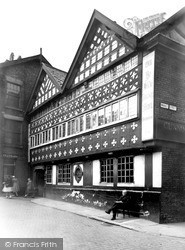 Warrington, The Barley Mow Inn c.1950