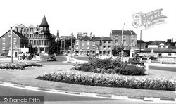 Warrington, The New Roundabout c.1960