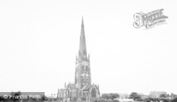 Warrington, The Parish Church c.1965