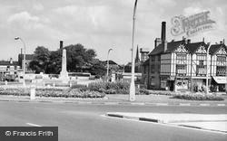 Warrington, The War Memorial c.1960