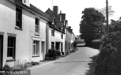 Warsash, Road To The River c.1965
