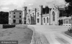 Leighton Hall c.1960, Warton