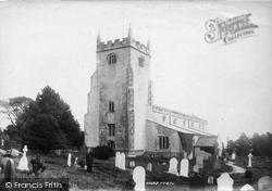 St Leonard's Church 1897, Warton