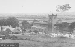 Warton, The Parish Church c.1955