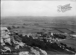 The View From The Crag 1918, Warton
