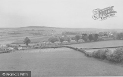The View Towards Carnforth c.1955, Warton