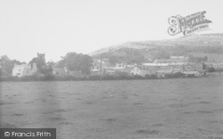 The Village And The Crag c.1955, Warton
