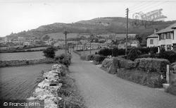 View From Borwick Lane c.1955, Warton