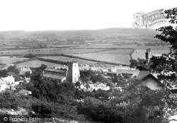 View From The Crag 1918, Warton