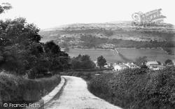 Warton Crag And Village 1918, Warton