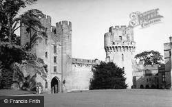 Warwick, Castle c.1950