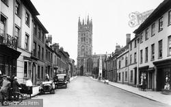 Warwick, Church Street 1922