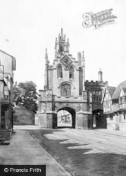 Warwick, East Gate 1892