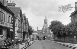 Warwick, East Gate 1922