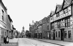 Warwick, East Gate And Jury Street 1892