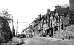 Warwick, Jury Street c.1950