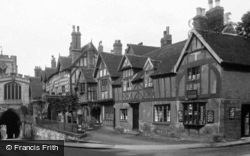 Leycester Hospital c.1930, Warwick