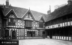 Warwick, Leycester's Hospital, The Courtyard 1882