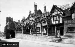 Warwick, Lord Leycester Hospital And The Chapel c.1890