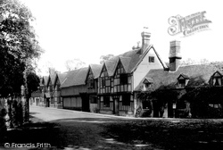 Warwick, Old Cottages 1892