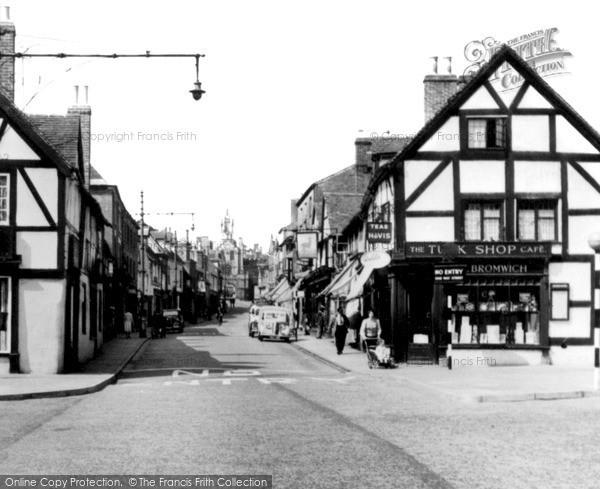 Warwick, Smith Street c1955