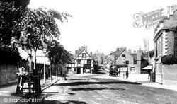 Warwick, St John's Street 1892