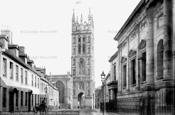 Warwick, St Mary's Church, Northgate Street 1892