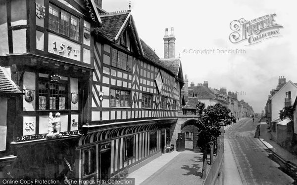 Warwick, The Lord Leycester Hospital 1892