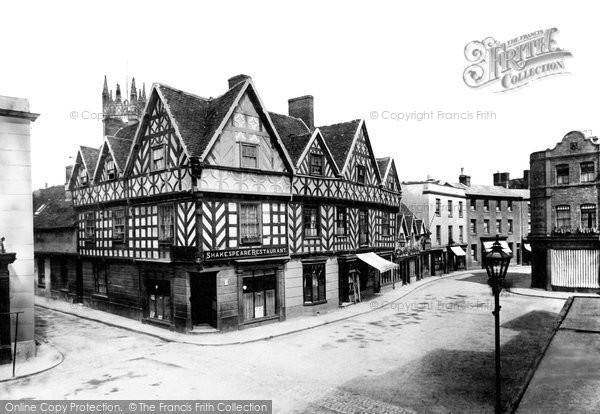 Warwick, the Shakespeare Restaurant 1892