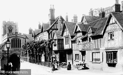 Warwick, Westgate And The Lord Leycester Hospital 1892