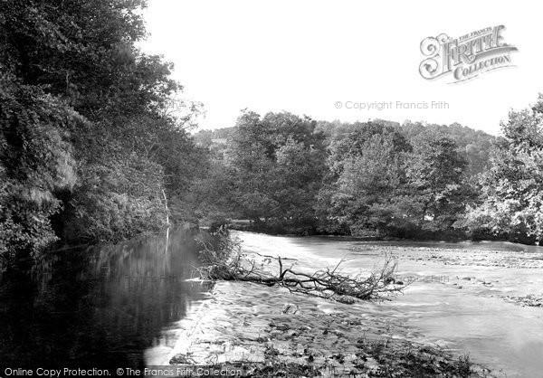 Photo of Washfield, Weir 1920