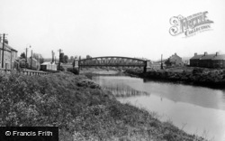 Washington, Fatfield Bridge c.1955