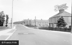 Washington, Newcastle Road c.1955