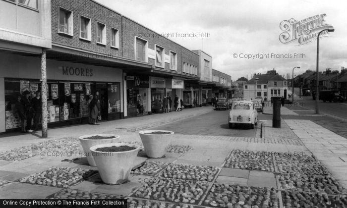 Washington, Shopping Centre c1965
