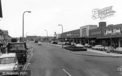 Washington, Shopping Centre c.1965
