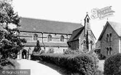 Washington, The Church Of Our Lady Immaculate c.1955