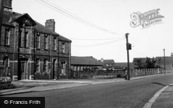 Washington, Usworth Schools And Miners Hall c.1955