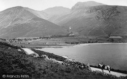 Wastwater, The Head Of The Lake c.1880, Wast Water