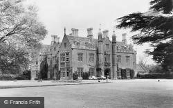 Watchfield, Beckett Hall, Officers Mess,  Royal Military College Of Science c.1960